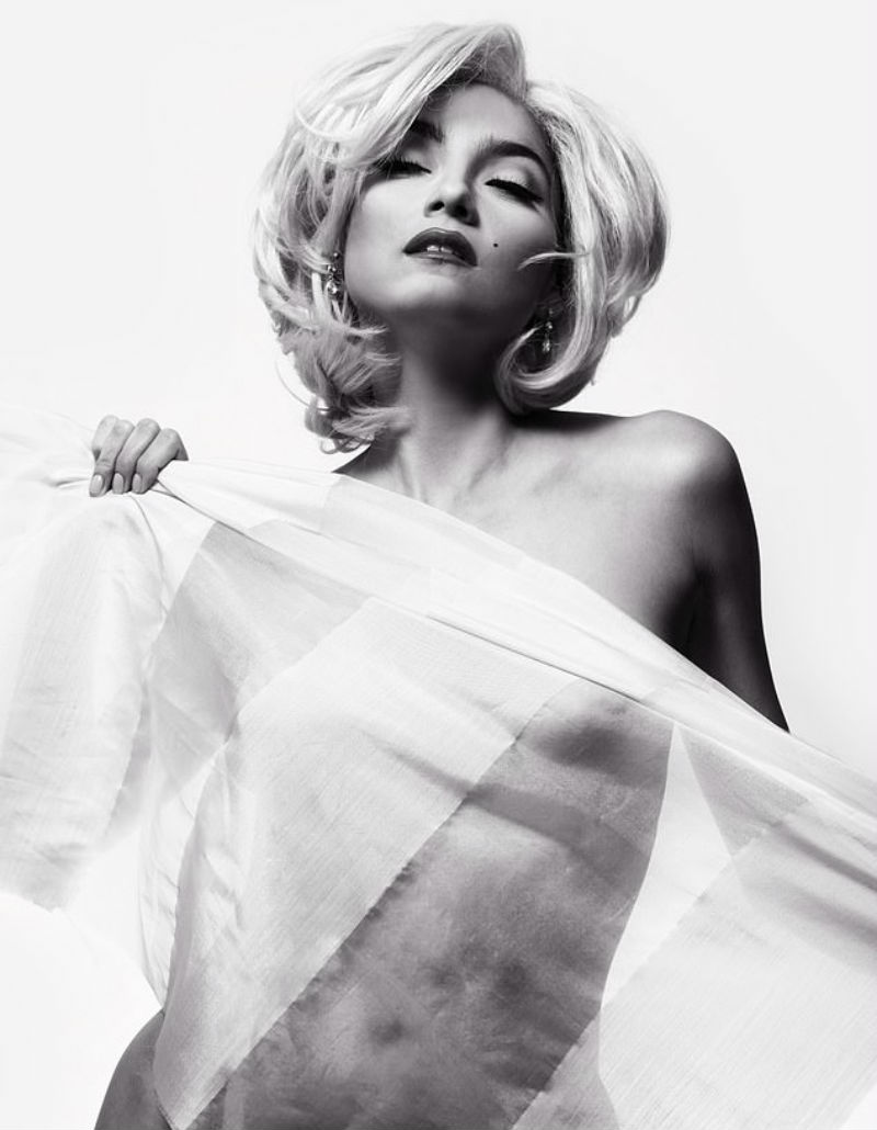 Blanca Blanco Playboy Inspired Marilyn Shoot