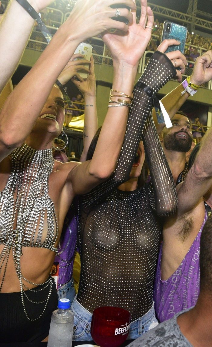 Bruna Marquezine at Rio Carnival Braless