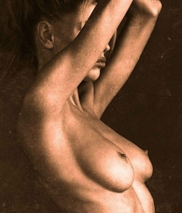 Charlotte McKinney Topless for Artist