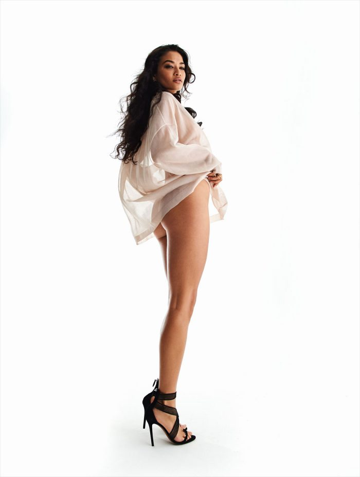 Shanina Shaik Poses for Maxim
