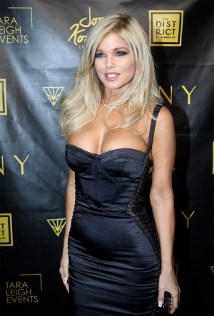 Donna D'Errico Killing It at 51 on the Redcarpet in a Tight Dress