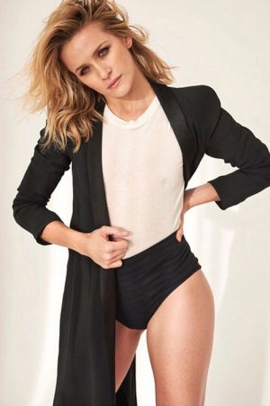 Shantel VanSanten Nipple Pokie on a Photo Shoot