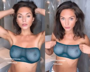 Alyssa Lynch Boobs in Totally Transparent Bra
