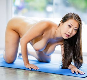 Sharon Lee Naked Yoga