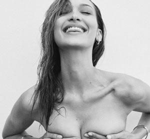 Bella Hadid Topless