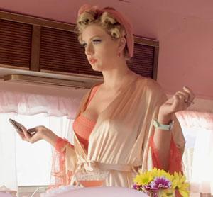 Taylor Swift Pink Bra