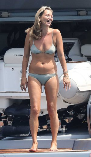 Kate Moss Pokies on a Giant Yacht