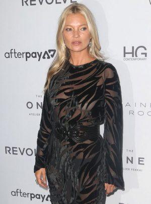 Kate Moss Nipple Slip at Styles Icon Awards