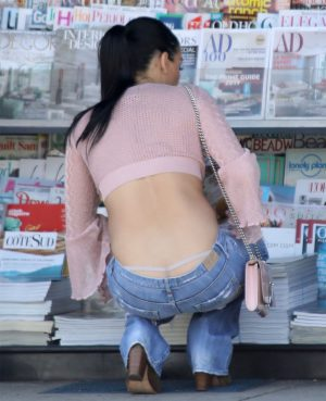 Nikki Bella Thong Pantie Slip and a Great Ass