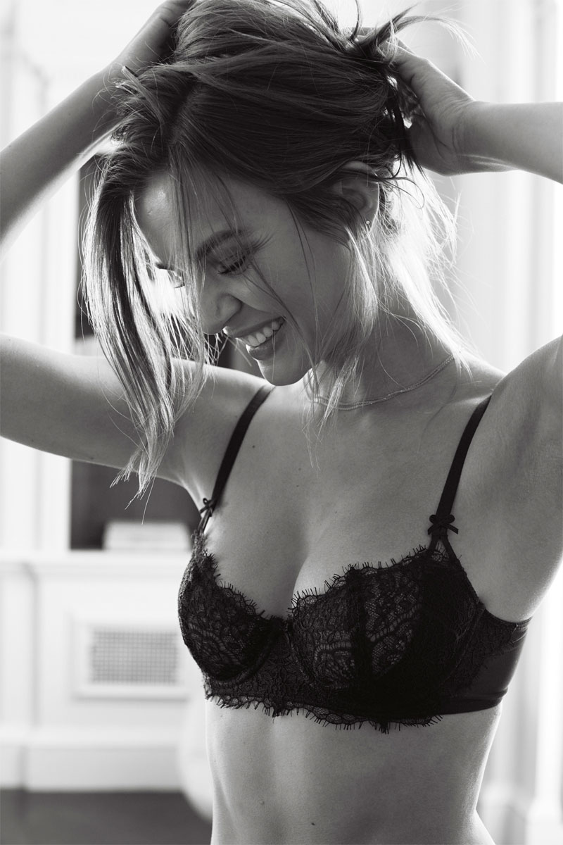 Josephine Skriver in Various Victoria's Secret Lingerie