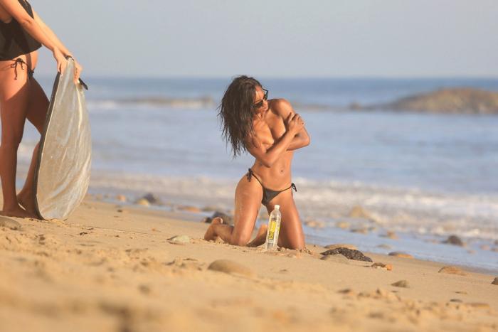 Arianne Nina Nipple Slip While Posing for 138 Water