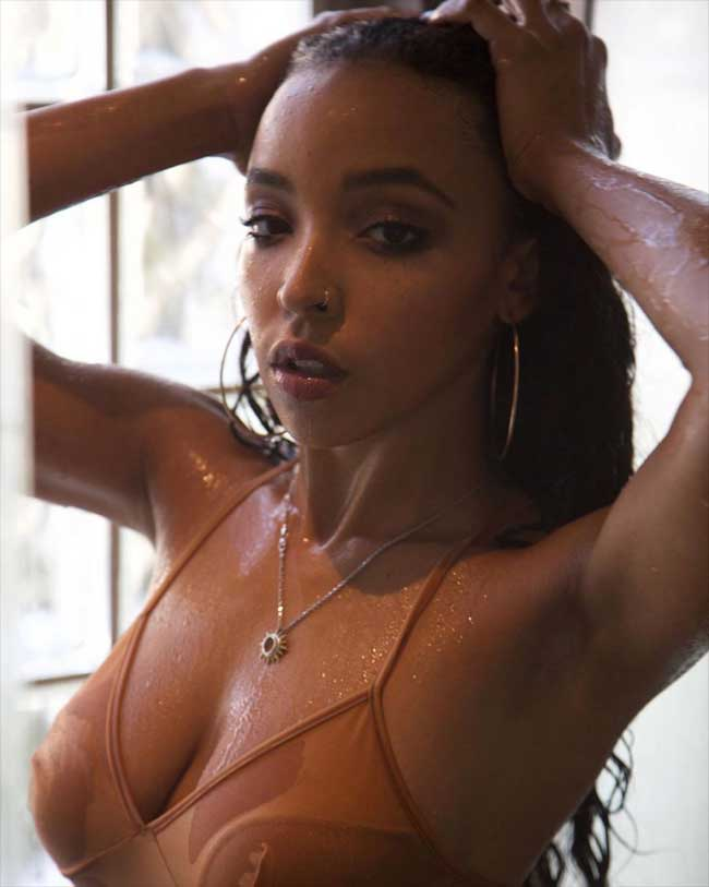 Tinashe Soak and Wet on her Instagram