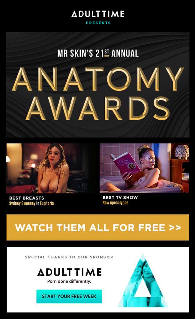 The 2020 Anatomy Awards Presented by Mr.Skin