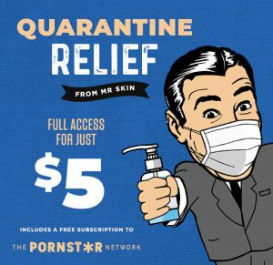 Quarantine Relief at Mr.Skin for Free