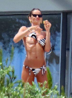 Izabel Goulart's Boob Accidentally Slip Out of her Bikini Top